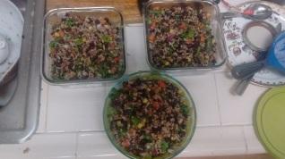 3 grain salad